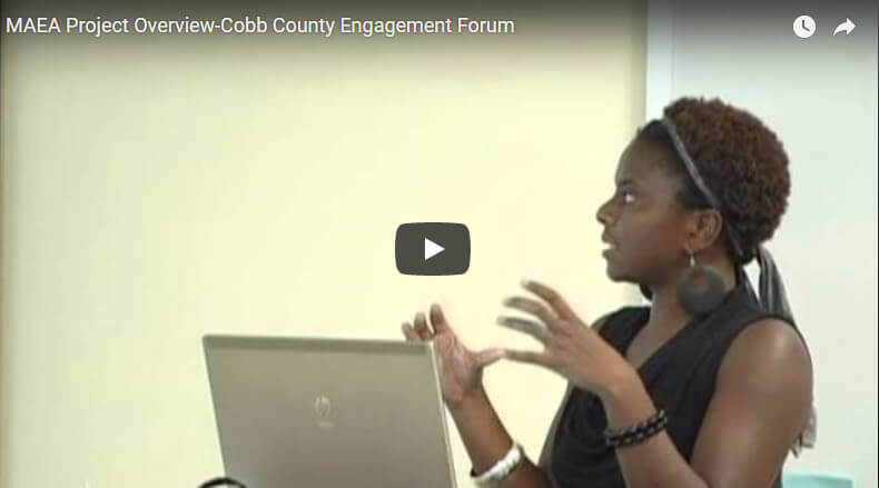 MAEA Project Overview-Cobb County Engagement Forum